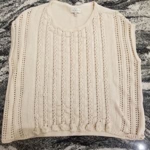 Lucky Cream Colored Sweater Vest or Tank ❤